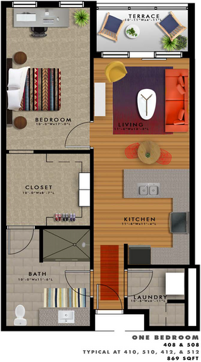 A2-F Floor Plan