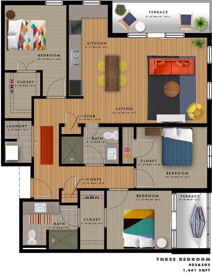 C2-B Floor Plan