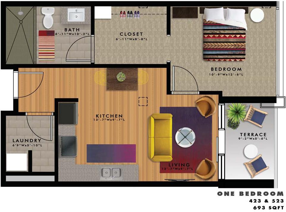 A2-N Floor Plan