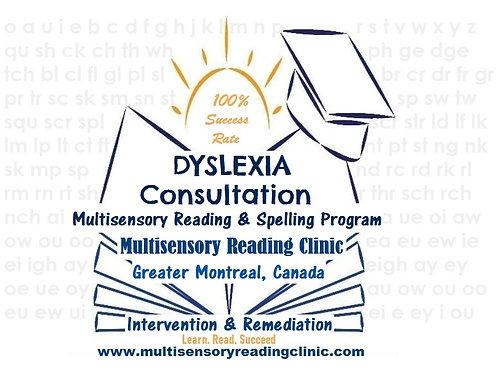 Dyslexia Consultation Service Fee