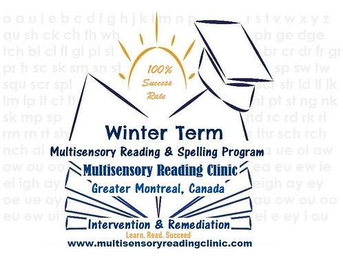 Winter Multisensory Reading & Spelling Program