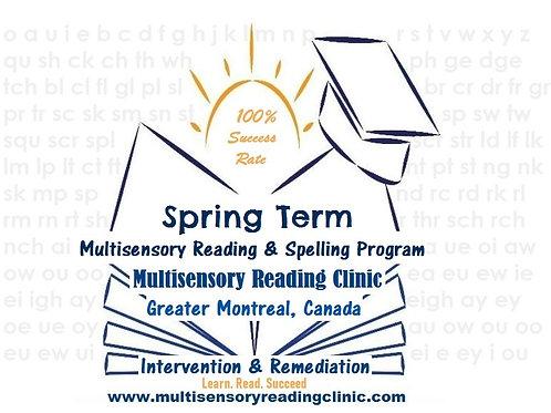 Spring Multisensory Reading & Spelling Program