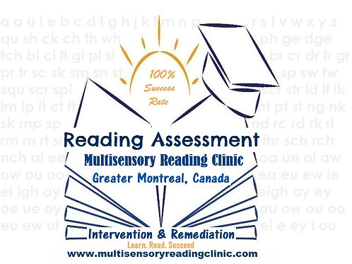 Reading Assessment Service Fee Only