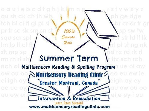 Summer Multisensory Reading & Spelling Program 15