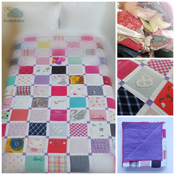 memory quilt keepsake patchwork baby clo