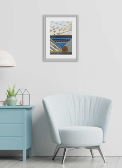 interior-has-armchair-empty-white-wall (