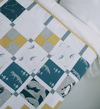 memory quilt cushion keepsake baby clothes onesies repurpose upcycle