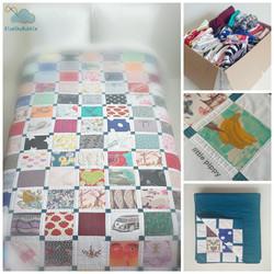 memory quilt keepsake patchwork baby clo