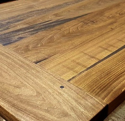 Poplar with Provencial Stain and Low Gloss Finish