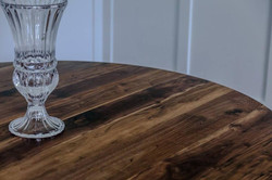 Walnut with Natural Oil and Low Gloss
