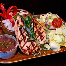 File de Frango com Arroz, Feijao e Salada (gf)