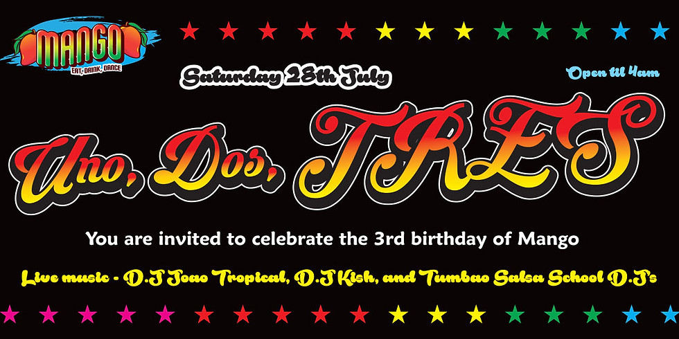 MANGO'S 3rd BIRTHDAY PARTY