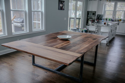Walnut with Natural Oil and Satin Finish