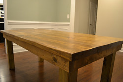 Carolina Sands Stained Pine Top - Standard Legs