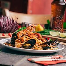 Spaghetti ao Fruto do Mar