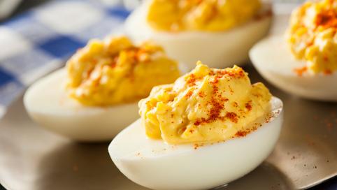 Great Garlic Lovers' Deviled Eggs