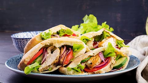 The Perfect Chicken Pita, with twist!