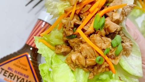 Big Hawaii Teriyaki Chicken Lettuce Wraps
