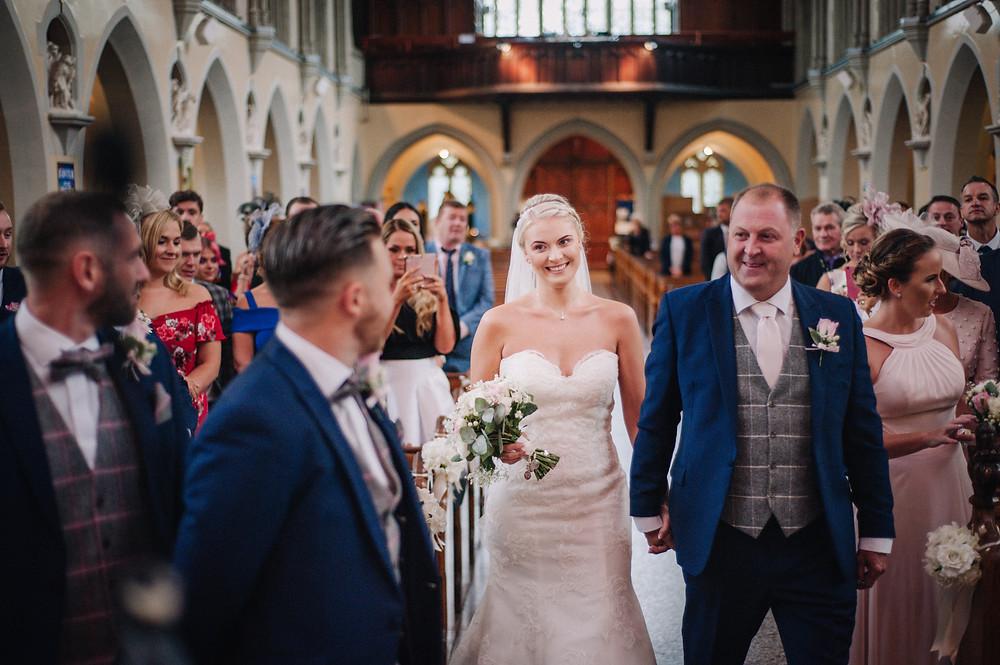 Wedding Ceremony captured by Nessworthy Photography, Lancashire