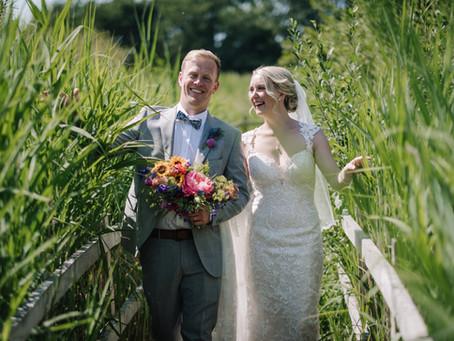Wedding Inspo #2 - Summer Vibes at Brockholes Nature Reserve