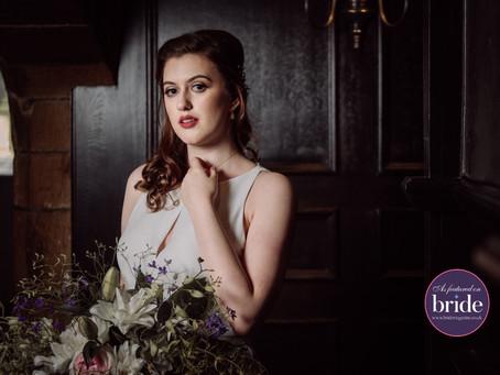 As Featured on Bride Magazine Blog - Elegant Styled-Shoot at Stirk House