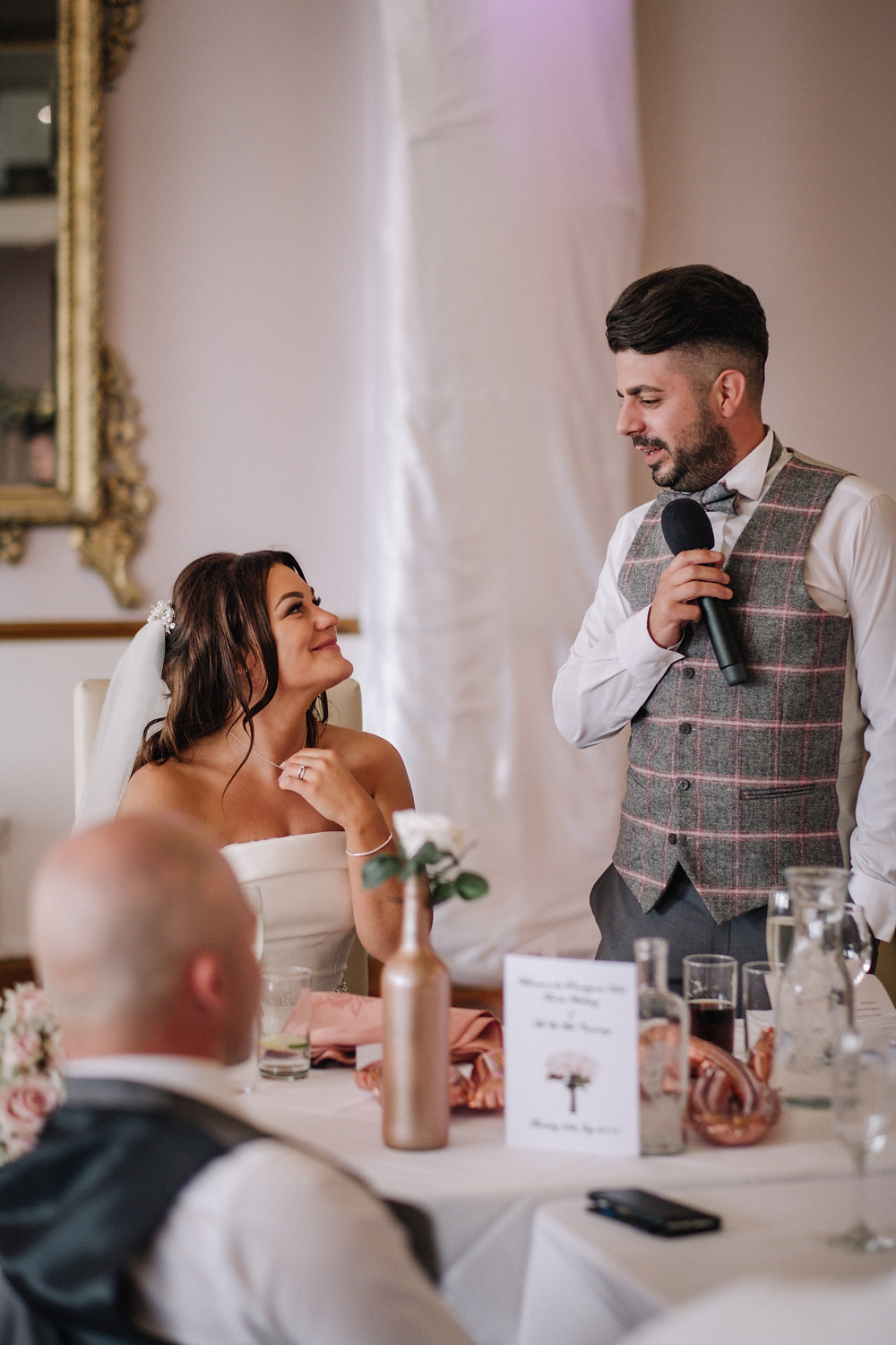 The Groom's Speech, captured by Nessworthy Photography