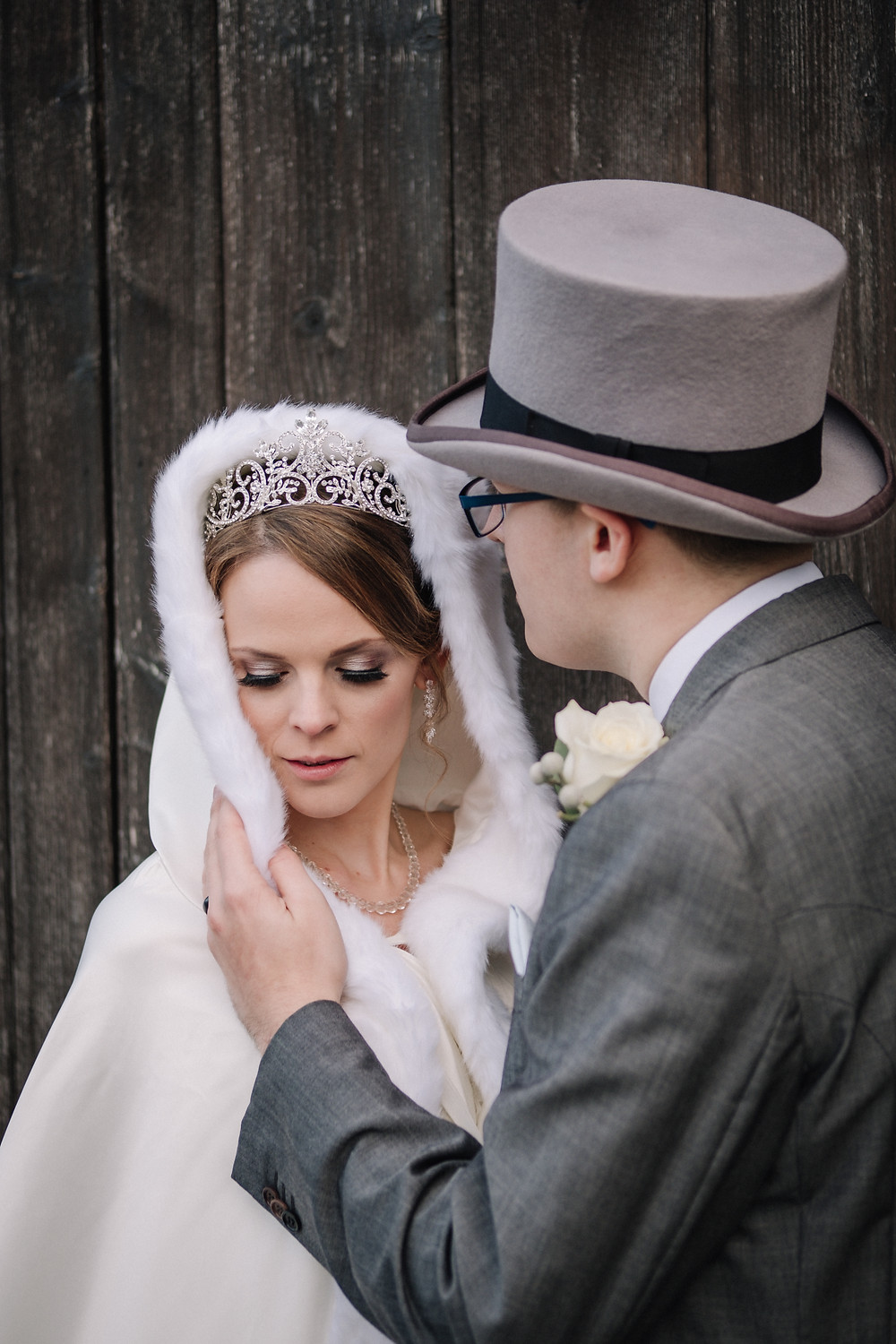 The Bride & Groom, by Nessworthy Photography