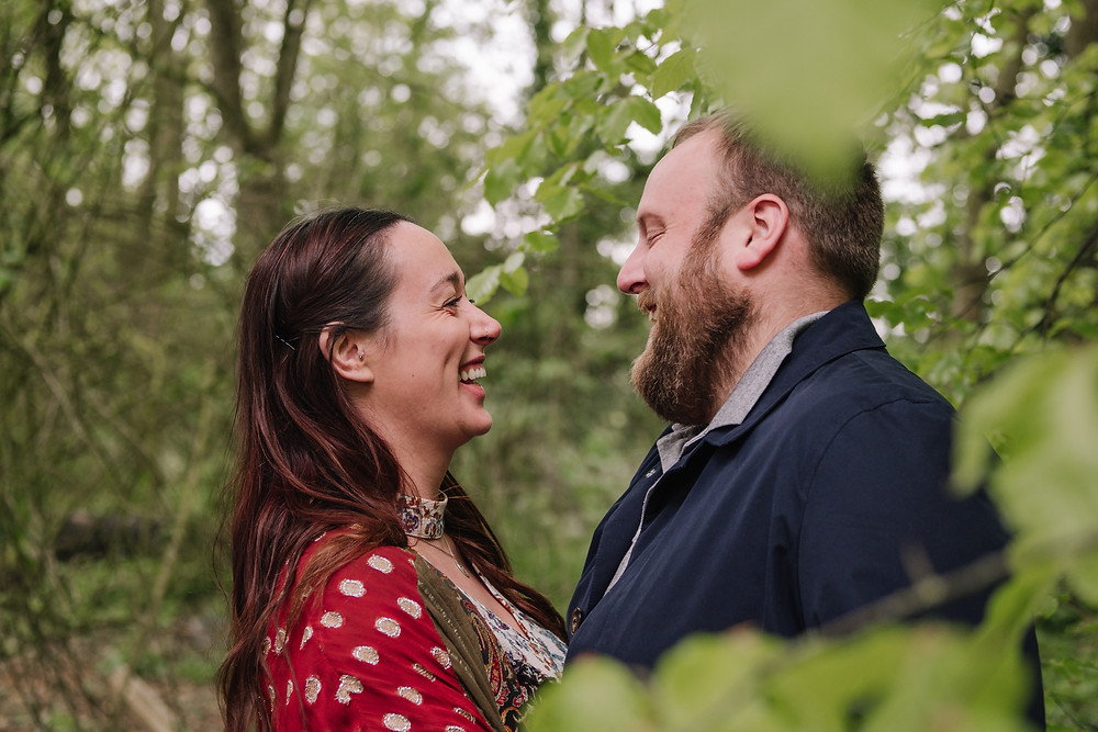 Engagement photography on Green Drive, Lytham