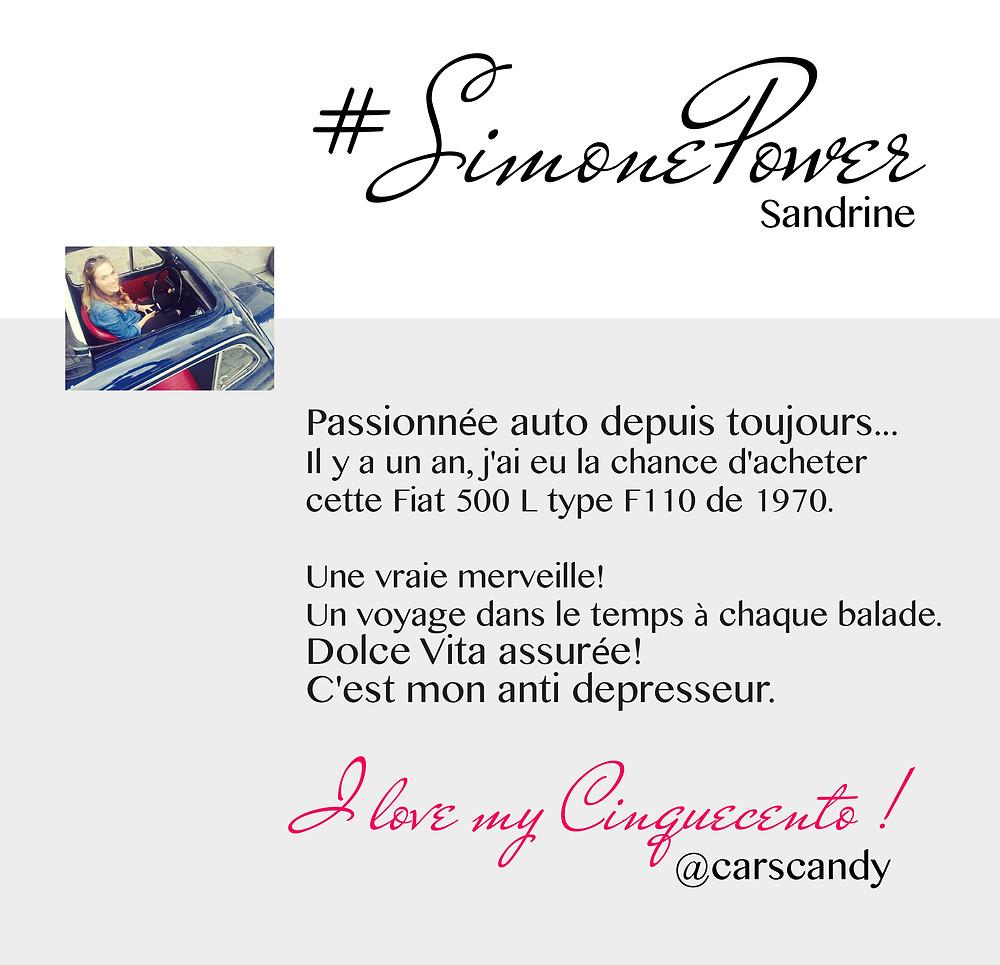 Simone Power -Sandrine -Les Grigris by Simone