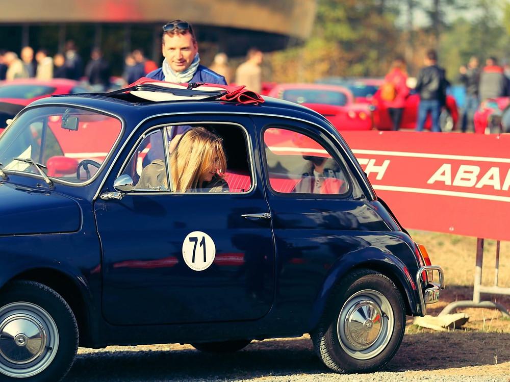 Simone Power : Sandrine - Fiat 500