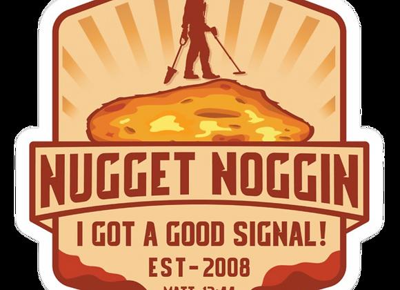 Nugget Noggin Sticker