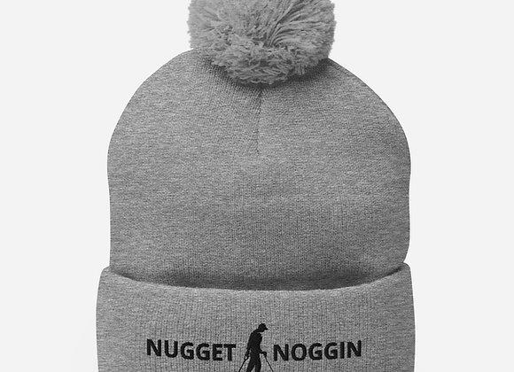 Nugget Noggin Pom-Pom Beanie