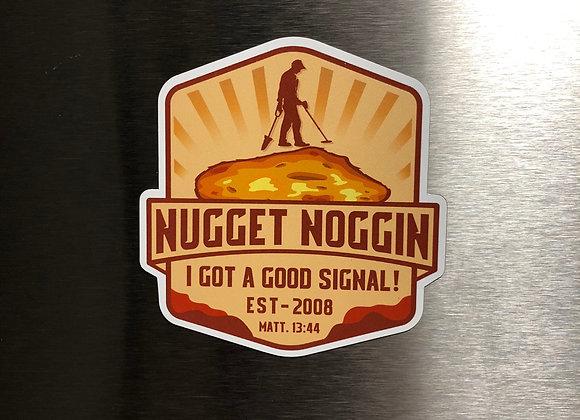 Nugget Noggin Magnet