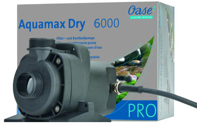 Oase Aquamax Dry Pumps