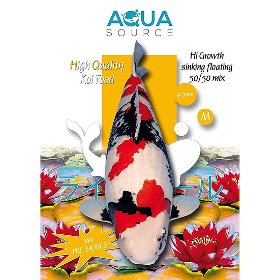 Aqua Source Hi Growth Sinking/Floating 50/50 Mix