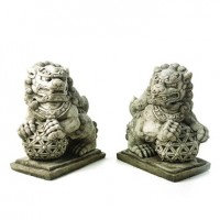 Giant Foo Dogs (Pair)