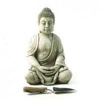 Antique Robe Buddha