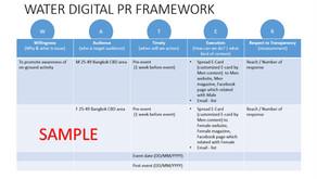 Digital PR มาคู่กับ Framework เสมอ