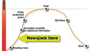 เพิ่ม Engagement ให้กับงาน PR ด้วยการทำ Newsjacking