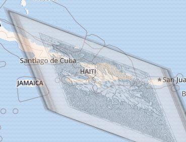 Stretching the old map of Haiti