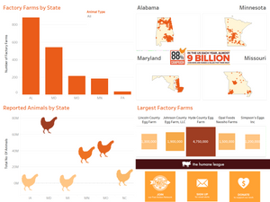 Data for a Cause - Chicken Factory Farms Allison Montgomery