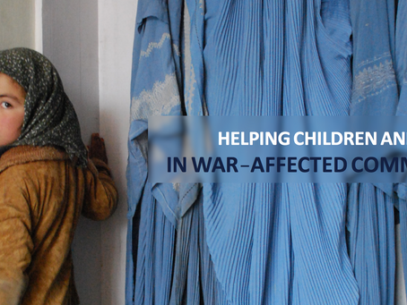 Visualizing Children and Families in War-Affected Communities