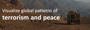 Visualizing global patterns of terrorism and peace