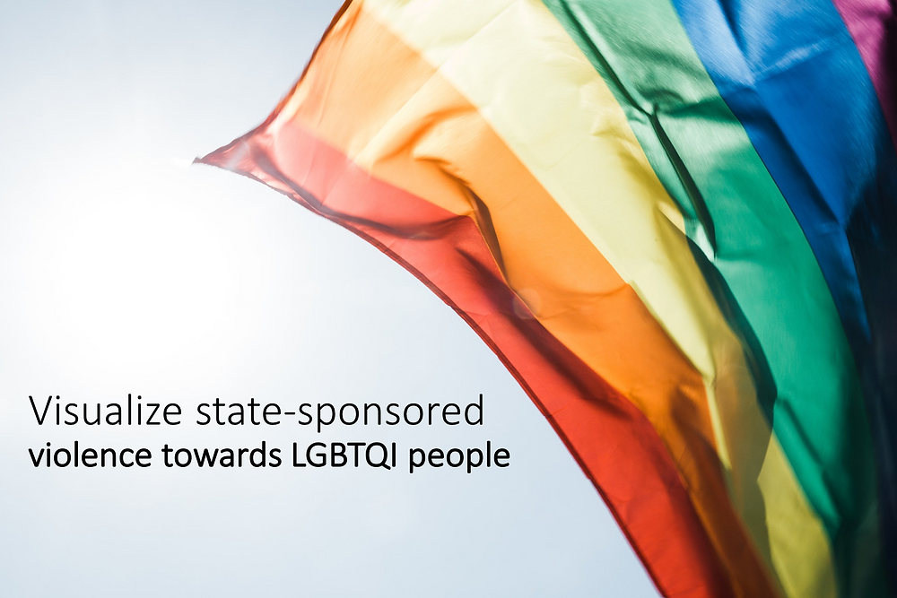 Visualize state-sponsored violence towards LGBTI people
