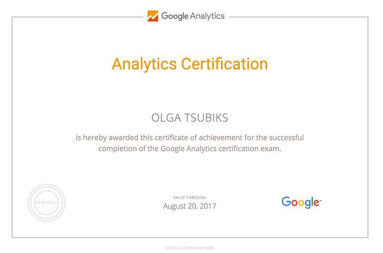 Google Analytics Templates for Startups