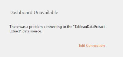 Finding a missing Tableau data source