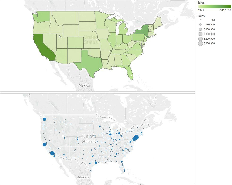 How to overlay maps in Tableau
