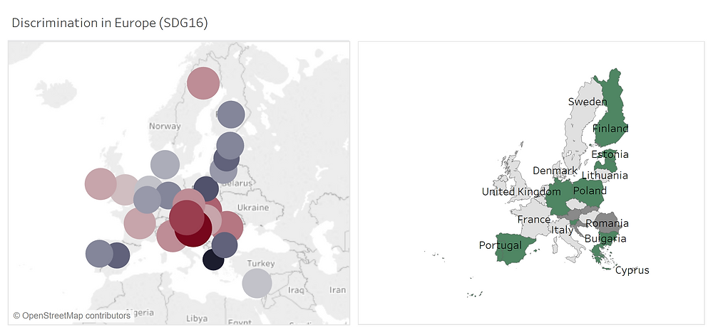 Influence with Data Visualization - Map vs Bubble Chart