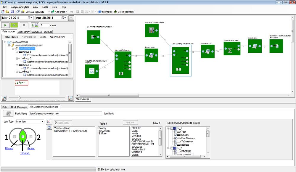 Data preparation tools for Tableau Analytics Canvas UI