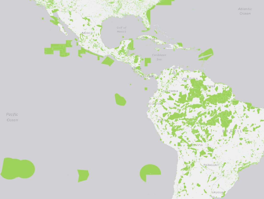 Protected Planet The Americas